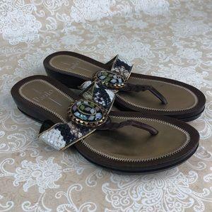 Pailo Brown Sandals